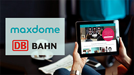 maxdome concludes exclusive partnership with Deutsche Bahn (Photo)